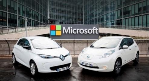 Альянс Renault-Nissan начинает сотрудничество с Microsoft 1