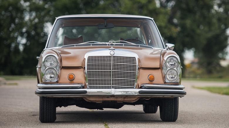Mercedes не реставрированный 47 лет - в идеальном состоянии 2