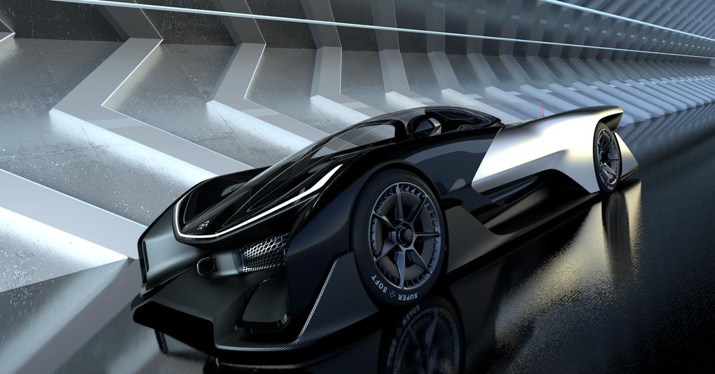 Китайцы построят четырехмоторный электрический суперкар 2