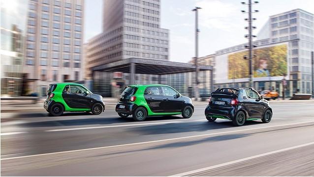 Каждая из моделей Smart стала электромобилем 2