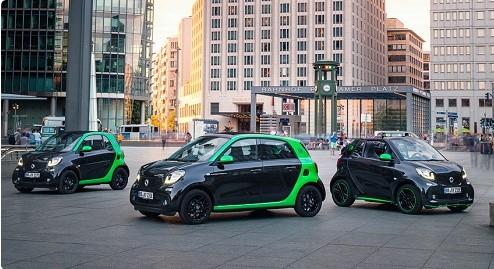 Каждая из моделей Smart стала электромобилем 1