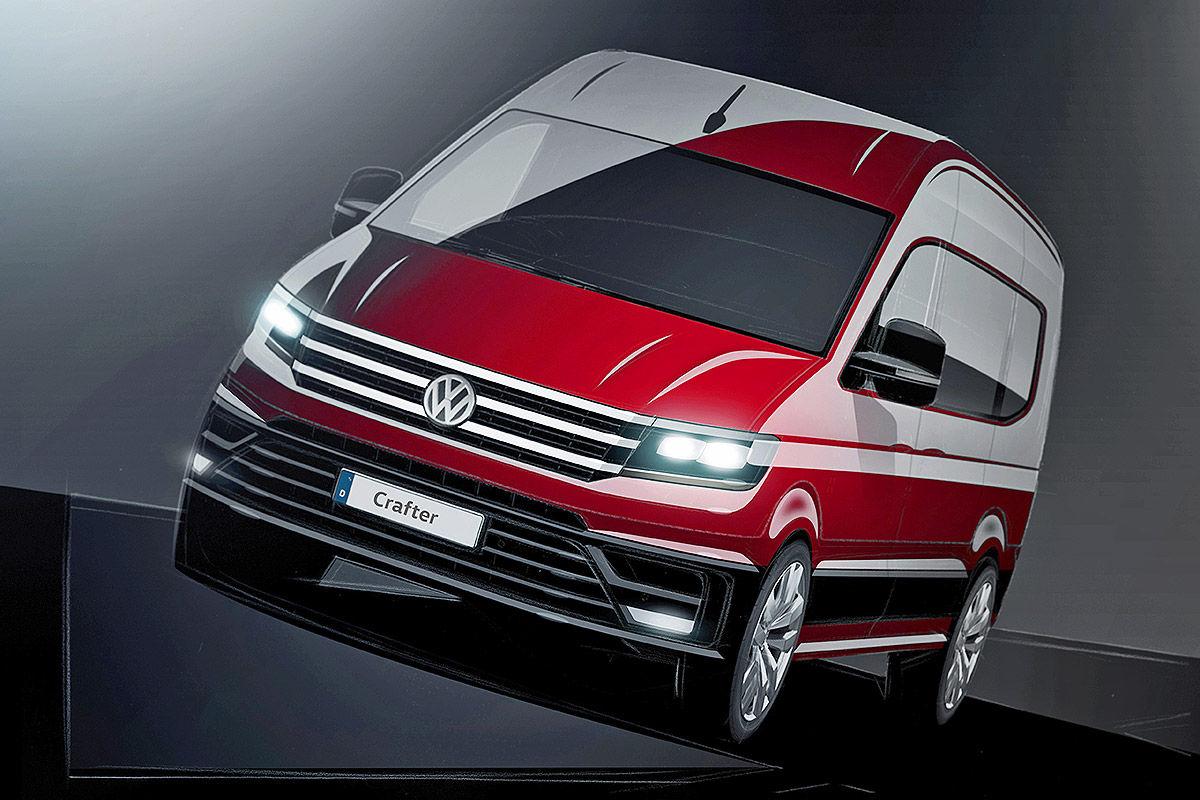 Volkswagen Crafter получил звание «Фургон года 2017» 1