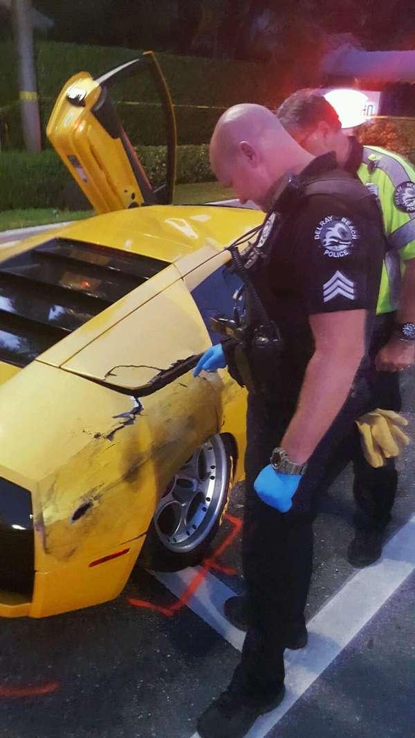 Престарелая пара устроила гонки на Lamborghini и Porsche 1