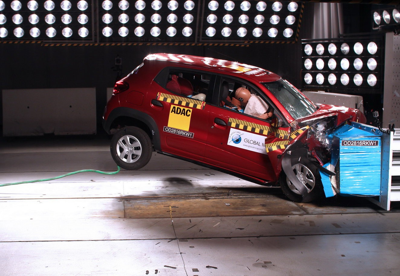 Какая модель Renault не прошла тесты безопасности 1