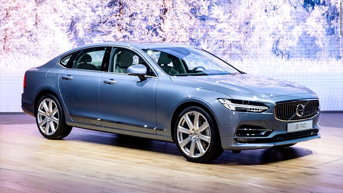 В Украине презентовали инновационный Volvo S 90 3