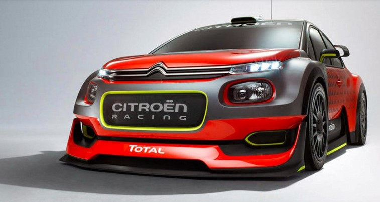 Citroen представит в Париже концепт раллийного C3 2