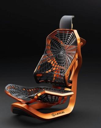 В Париже Lexus представит кинетическое кресло 1