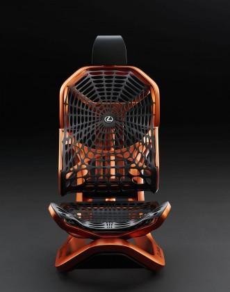 В Париже Lexus представит кинетическое кресло 2