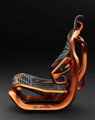 В Париже Lexus представит кинетическое кресло 4