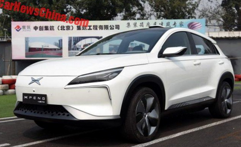 Китайцы презентовали новый кроссовер 1