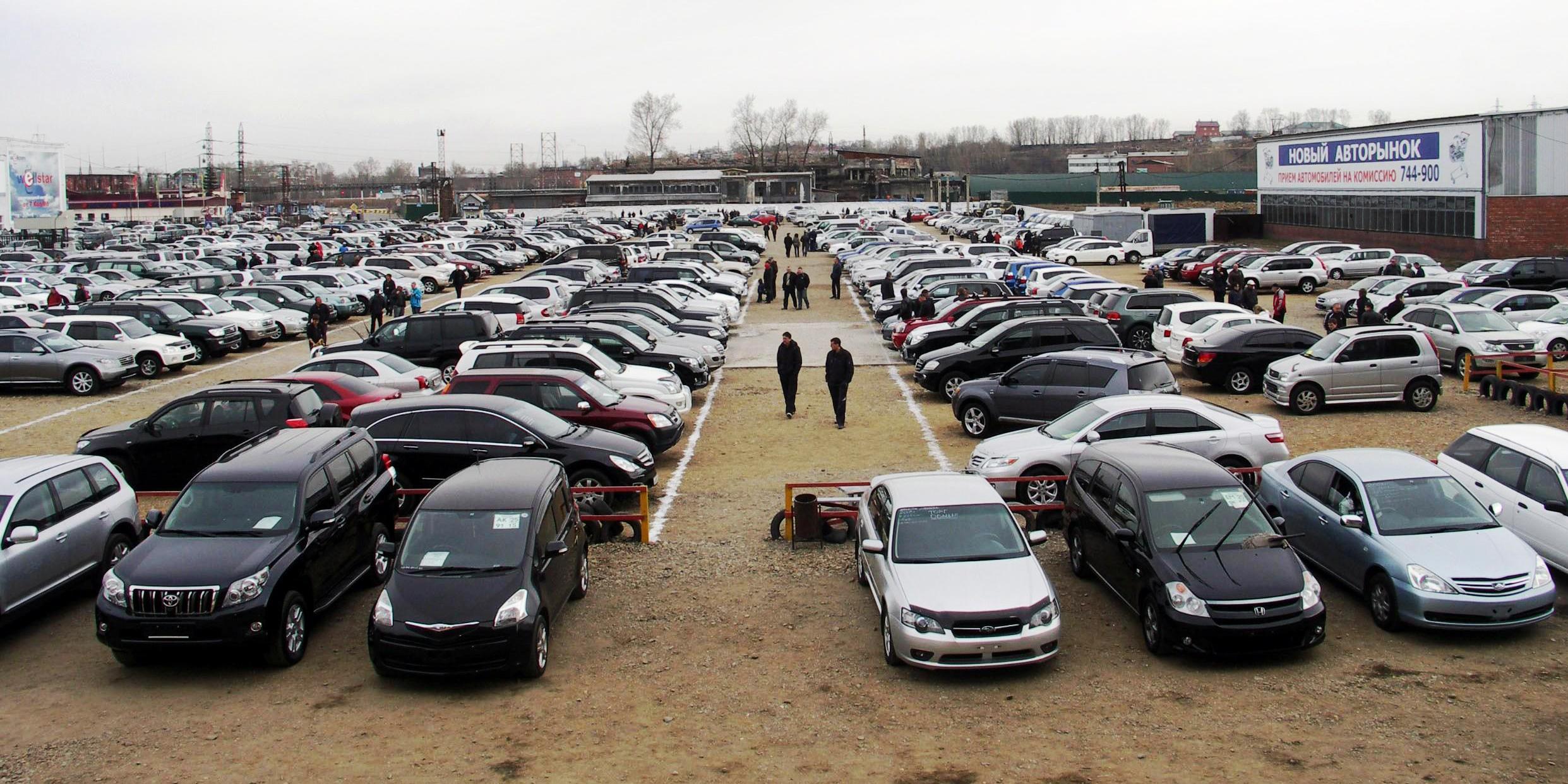 В обход растаможки: автомобили из Крыма и РФ 1