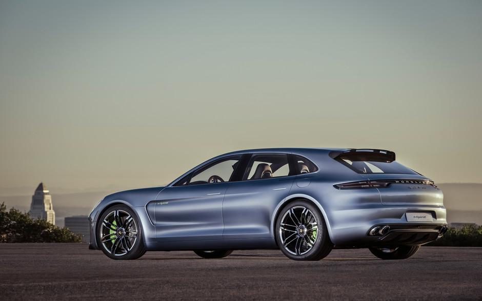 Porsche создаст новый универсал Panamera 1
