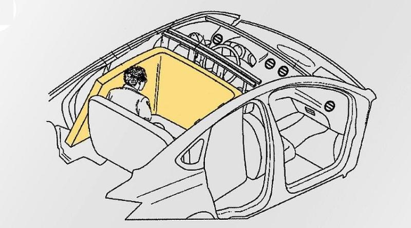 Компания Ford запатентовала новый тип подушек безопасности 1