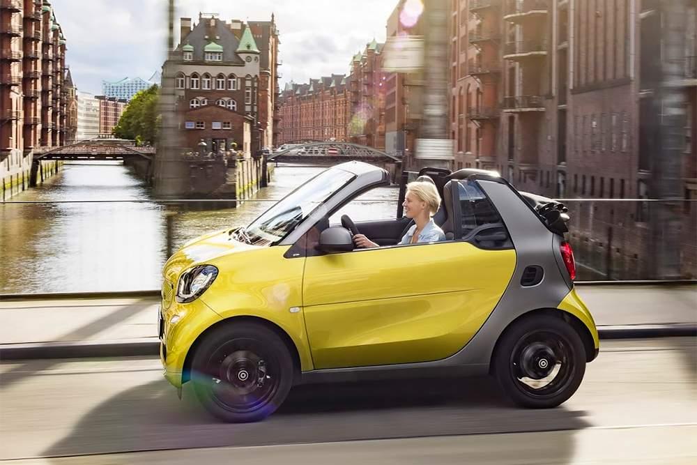 Новый кабриолет Smart завоевывает поклонников 2