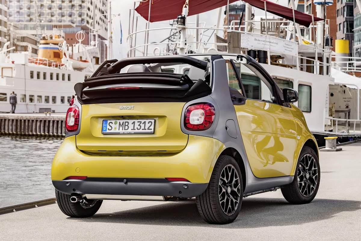 Новый кабриолет Smart завоевывает поклонников 1