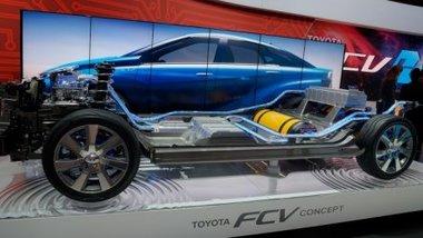 Компания Toyota пообещала выпустить самый дешевый водородный автомобиль 1