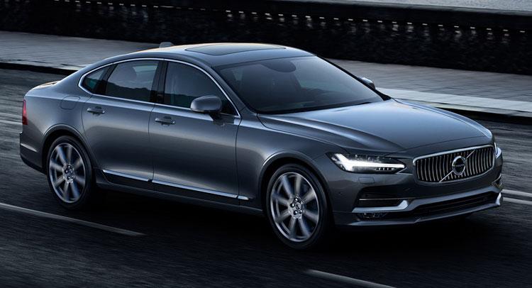 В сети появились фото дизайна будущего купе Volvo C90 2