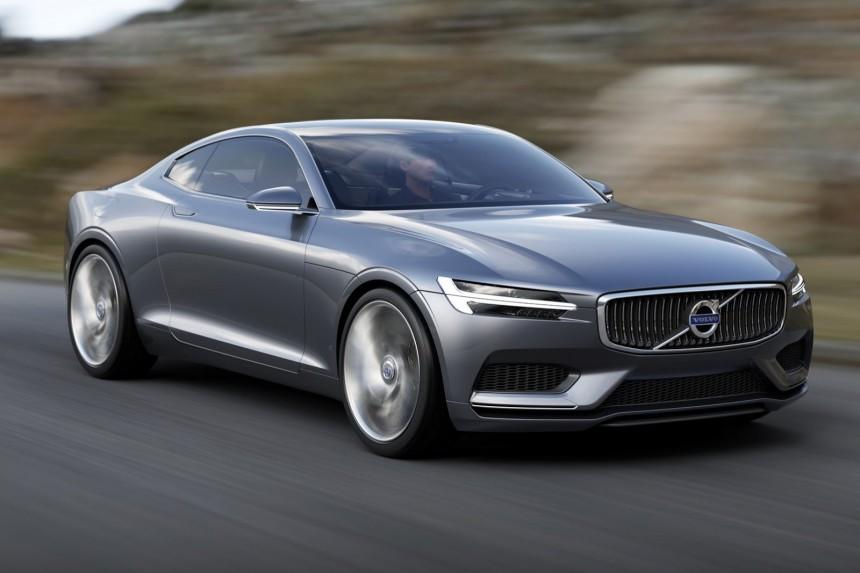 В сети появились фото дизайна будущего купе Volvo C90 1