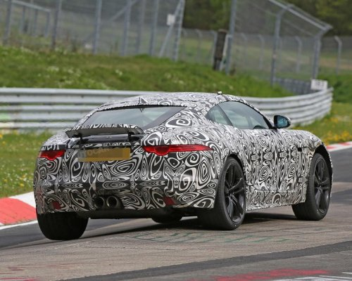 Новый Jaguar F-Type выехал на дорожные тесты 1