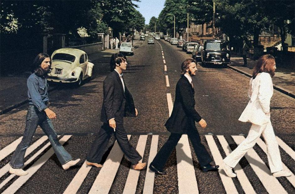 В Украине появился уникальный пешеходный переход «с Beatles» 2