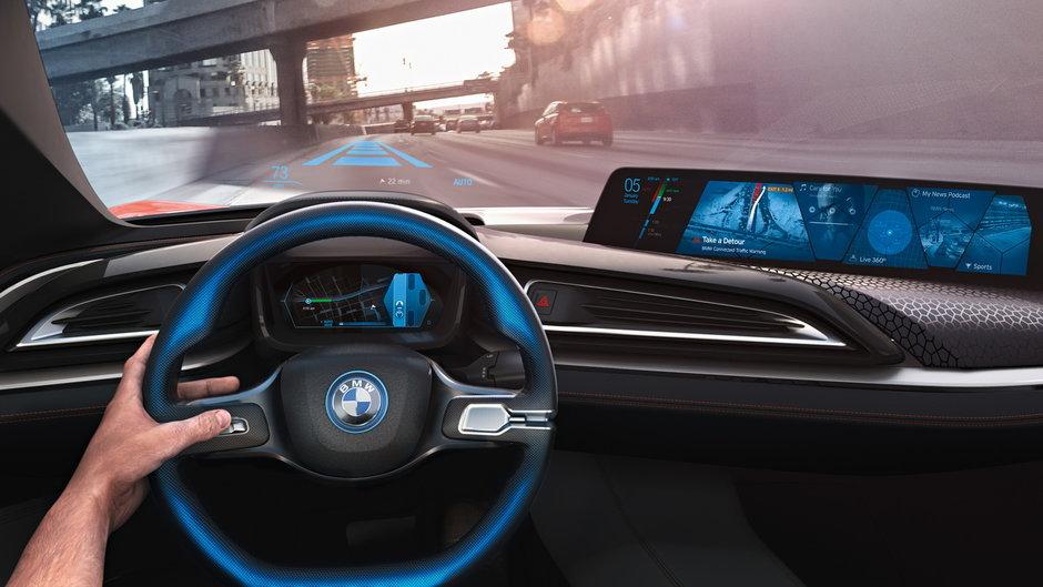 Новый BMW «i» получит автономное управление 3