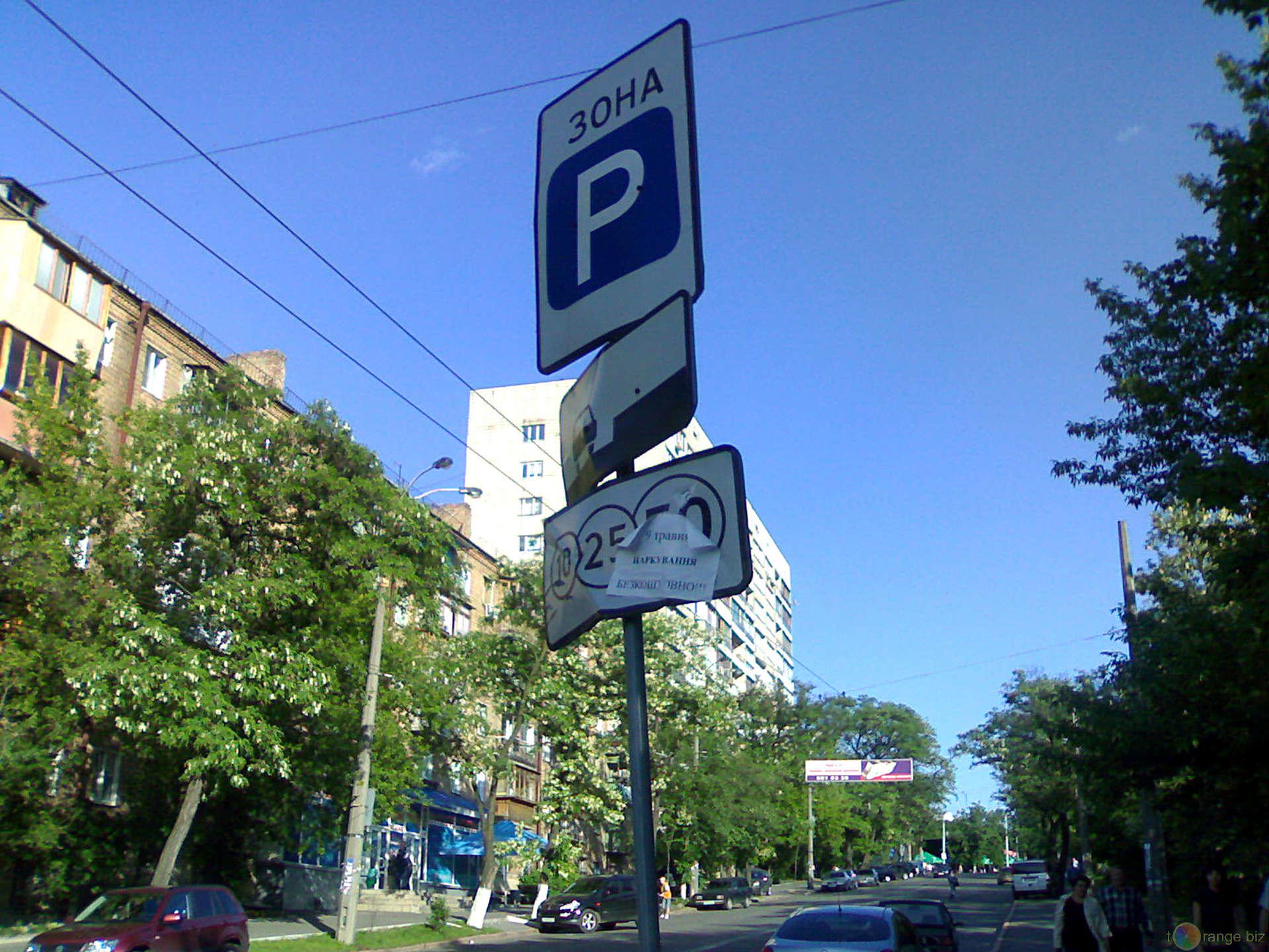 В Верховной Раде не приняли новые правила парковки 1
