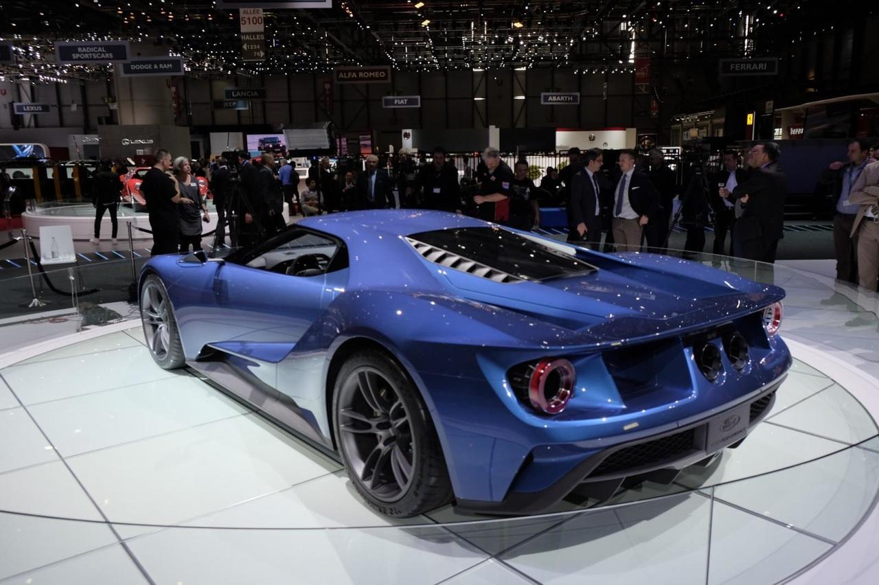 Желающих заказать новый Ford GT оказалось в 13 раз больше, чем машин 2