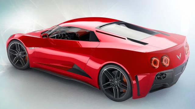 Corvette оснастят среднемоторной компоновкой 1