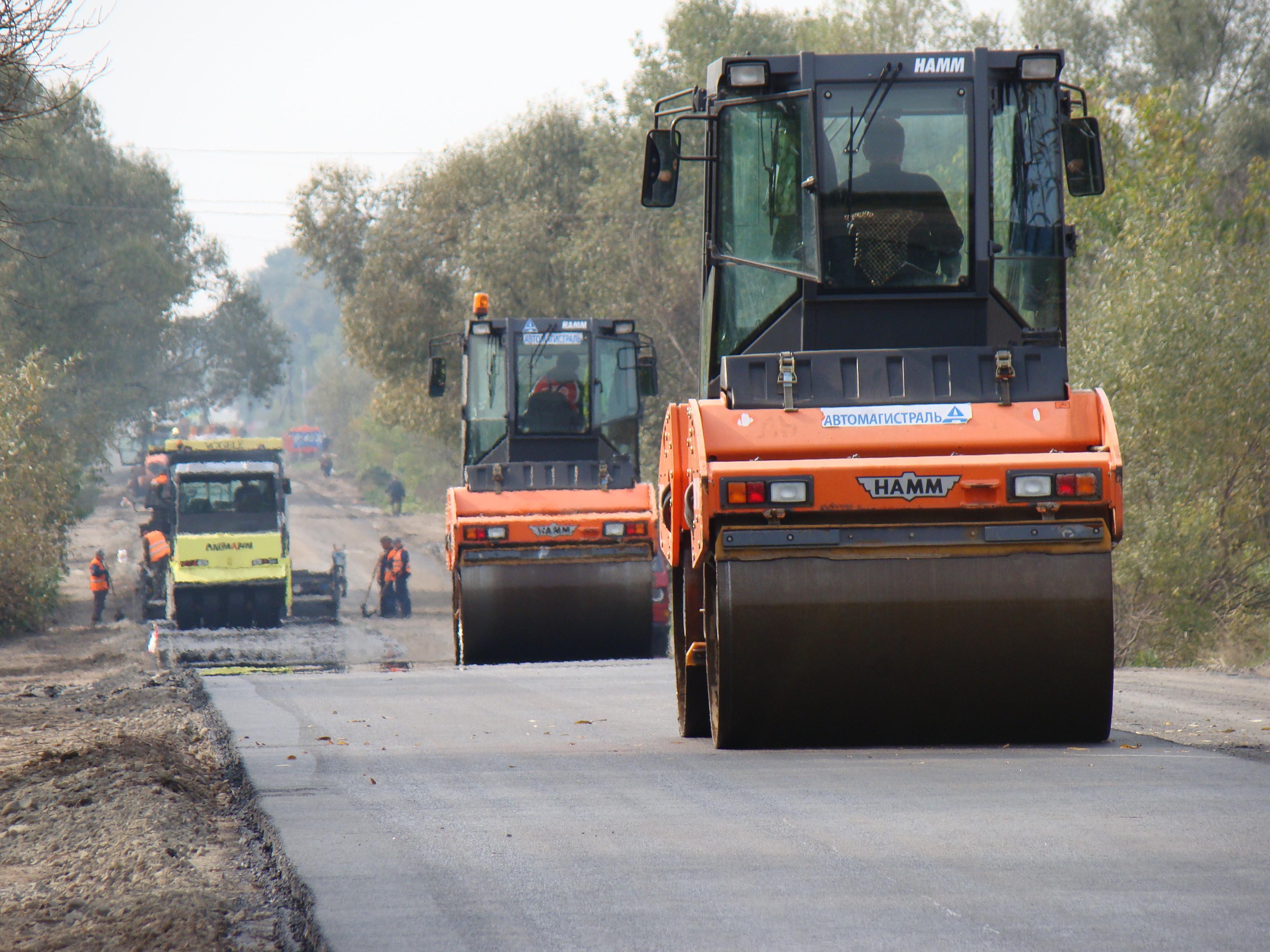 На реконструкцию дорог в Западной Украине выделят миллиард гривен 1