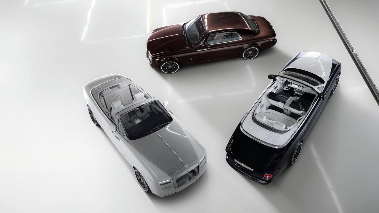 Марка Rolls-Royce выпустит «прощальную» серию Phantom 1