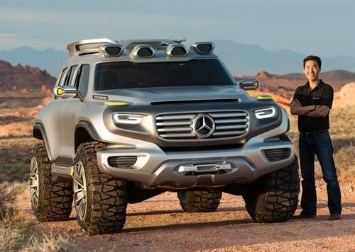 Компания Mercedes презентует совершенно новый кроссовер 1