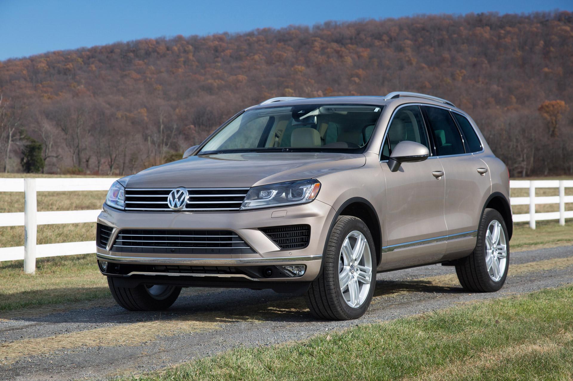 Volkswagen отзывает новый Touareg 1