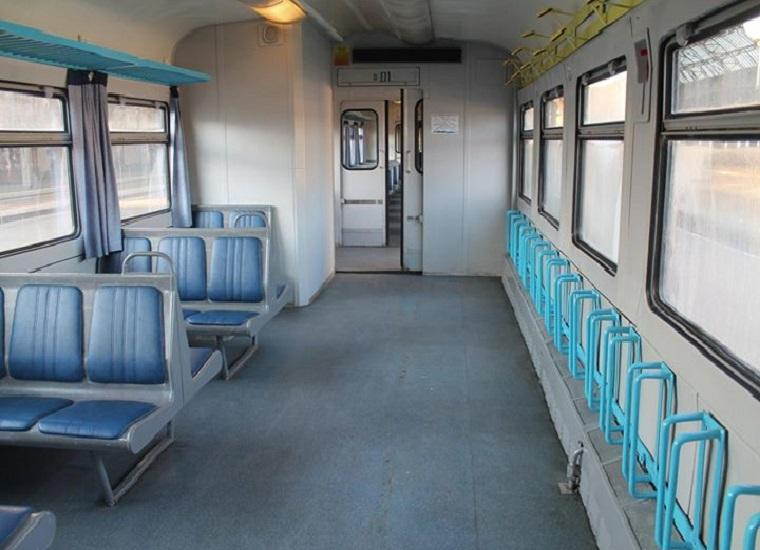 В Украине появился железнодорожный вагон для велосипедистов 1