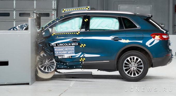 Lincoln MKX получил самый высокий рейтинг безопасности 1
