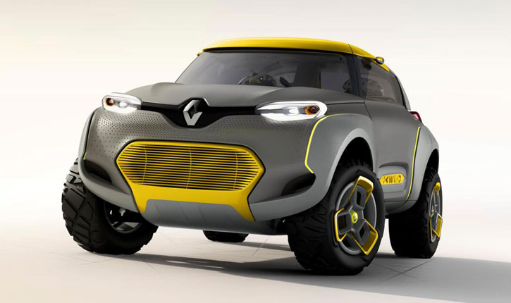 Новый хэтчбек Renault Kwid «запускают в серию» 1