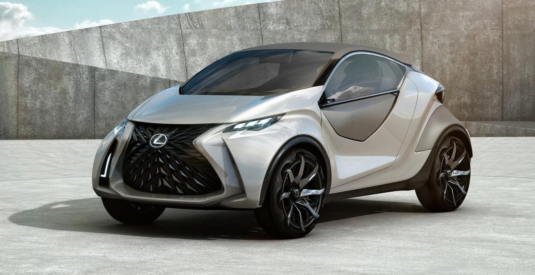 Lexus презентует совершенно новый мини-кроссовер 2