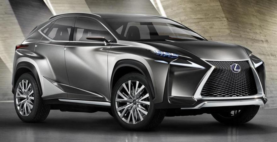 Lexus презентует совершенно новый мини-кроссовер 3