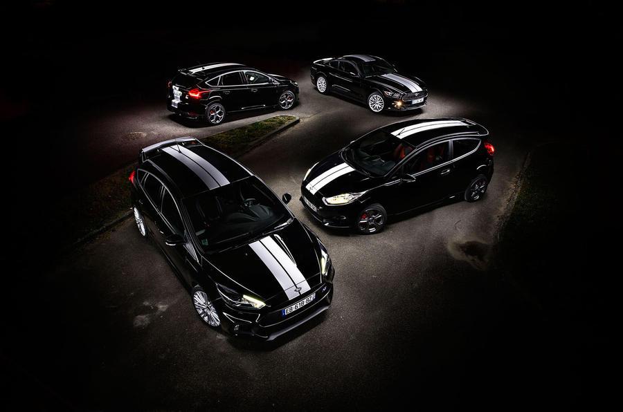Компания Ford выпустит спецверсии сразу четырех моделей 1