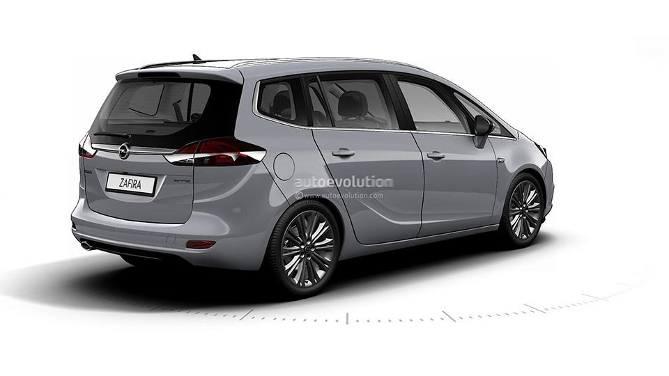 Новый Opel Zafira получил массу изменений 2