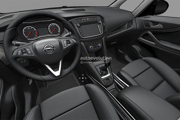 Новый Opel Zafira получил массу изменений 3