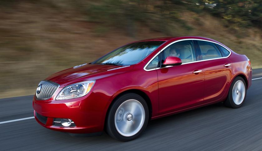 Седан Buick Verano «уйдет в историю» 1
