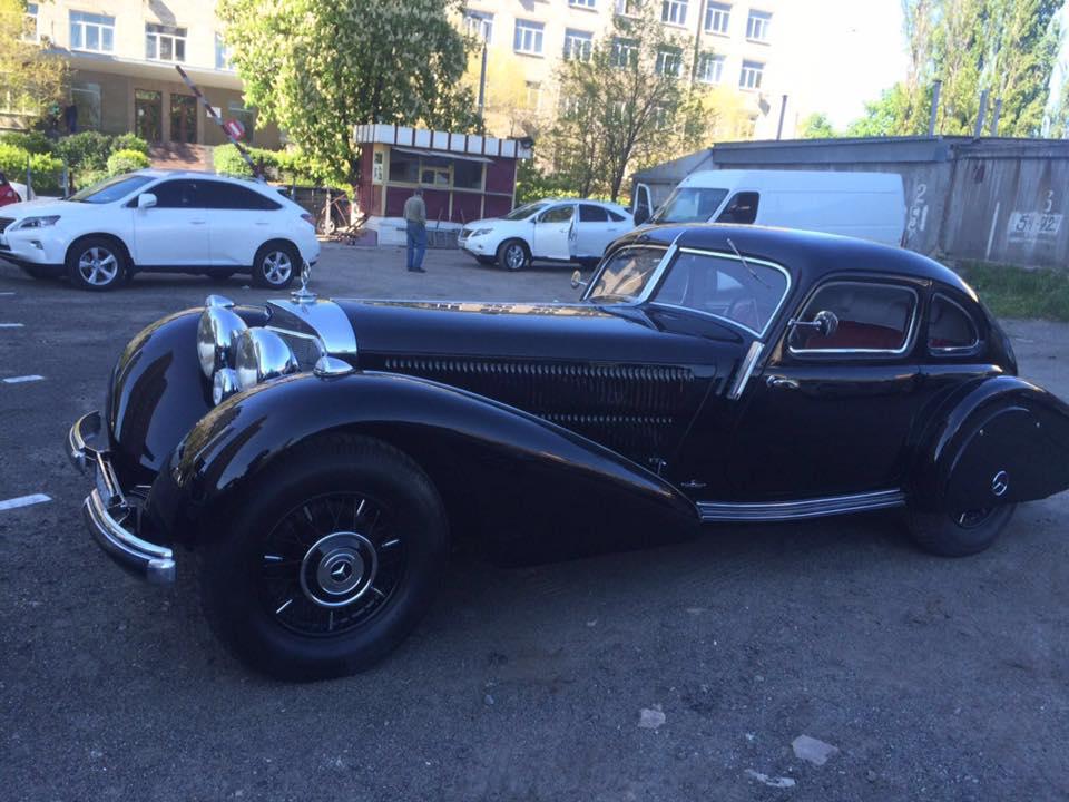 В Украине замечен редчайший Mercedes 540K 1