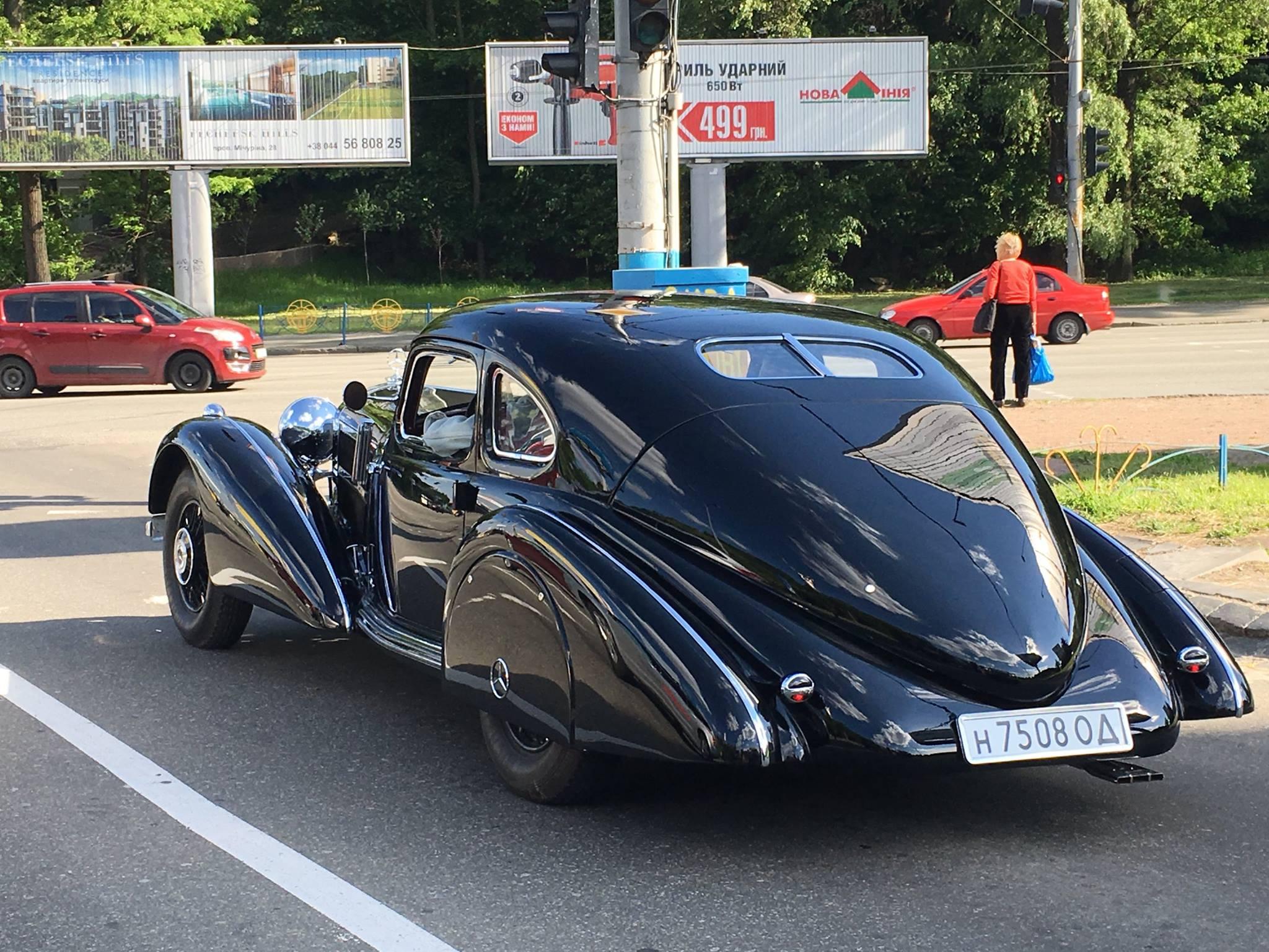 В Украине замечен редчайший Mercedes 540K 2