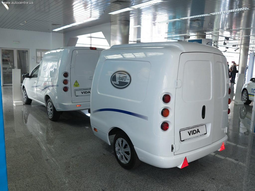 ЗАЗ презентовал «Vida фургон c ГБО» 2