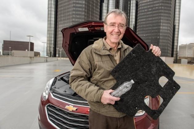 При строительстве двигателей компания General Motors использует пластиковые бутылки 1