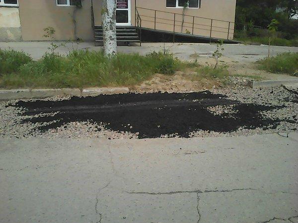 В Крыму практикуют «российскую методику» ремонта дорог 1