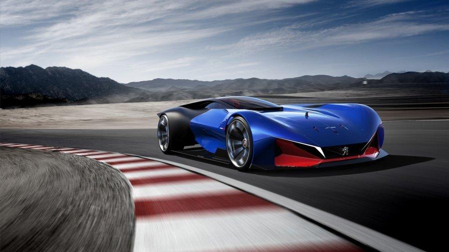 Компания Peugeot представила 500-сильный концепт-кар 2