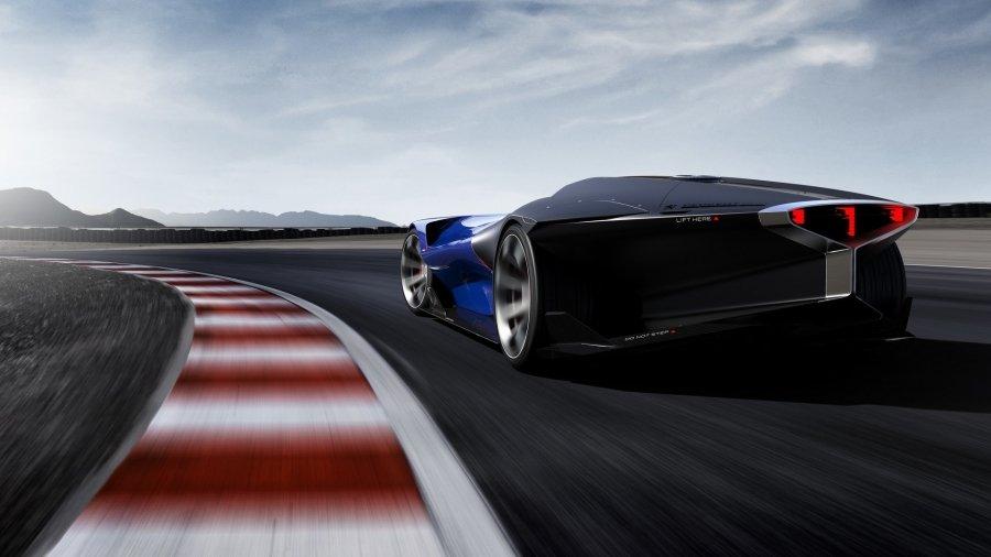 Компания Peugeot представила 500-сильный концепт-кар 1