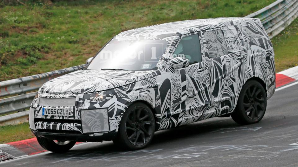 Новый Land Rover Discovery готовится к презентации 1