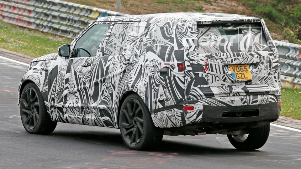 Новый Land Rover Discovery готовится к презентации 2